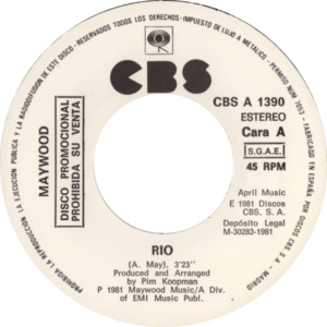 Maywood - Rio / Spanje 2 (White label promo)
