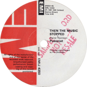 Pussycat - Then the music stopped / Zimbabwe (sample record)