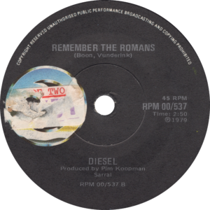 Diesel - Remember the romans / South-Africa