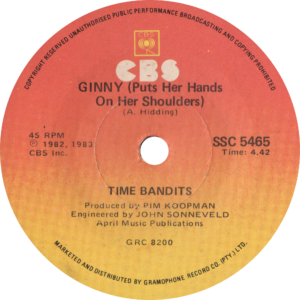 Time Bandits - I'm specialized in you / South - Africa