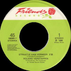 Roland Verstappen - Straatje van Vermeer / NL