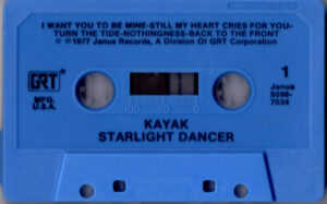 Kayak - Starlight dancer / USA cassette