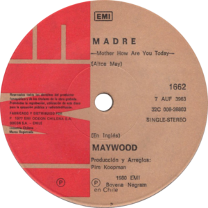 Maywood - Madre / Chile