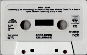 Anna Book - Killsnack / Scandinavia cassette