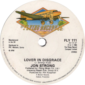 Jon Strong - Lover in disgrace / U.K.