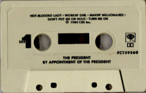 The president - By appointment of / USA cassette