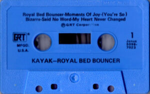 Kayak - Royal bed bouncer / USA cassette