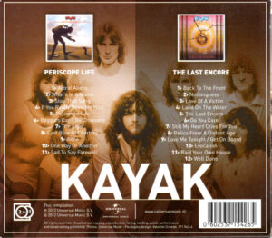Kayak 2 for 1 - Periscope life + The last encore / NL cd