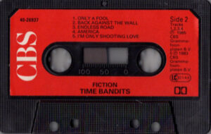 Time bandits - Fiction / UK cassette