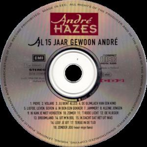 André Hazes - Al 15 jaar gewoon André / NL