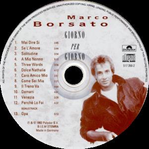 Marco Borsato - Giorno per giorno / NL cd