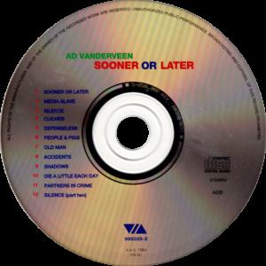 Ad Vanderveen - Sooner or later / NL