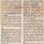 Kayak Rotterdams Dagblad 23-05 2000